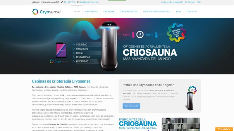 cryosense