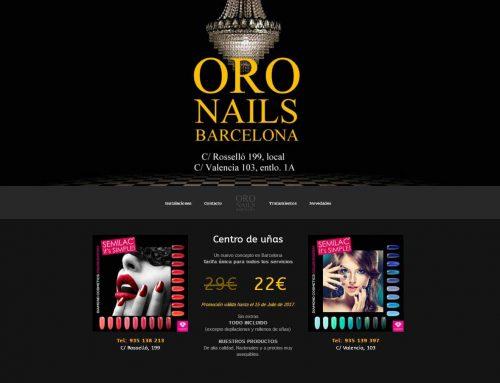 Oro Nails Barcelona