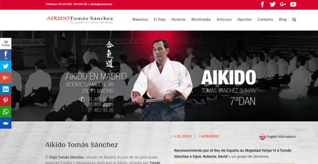 Aikido Tomás Sánchez