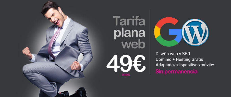 tarifa plana web