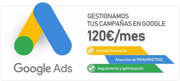 Gestión de campañas en Google ADS