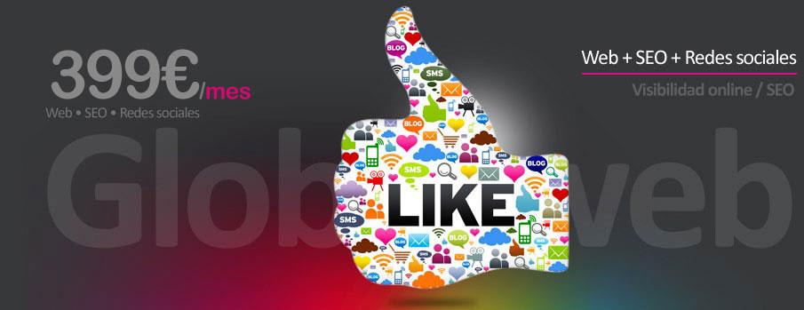 Diseño web, SEO y redes sociales